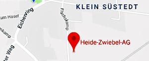 Heide-Zwiebel AG Uelzen - Anfahrt